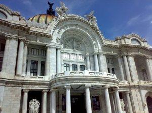 Detalle del Palacio de Bellas Artes