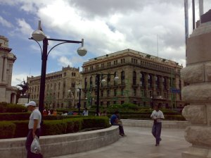 Edificios coloniales en la Ciudad de México