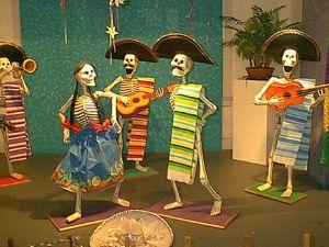 mariachi con calaveritas
