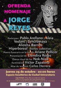Homenaje Jorge Reyes